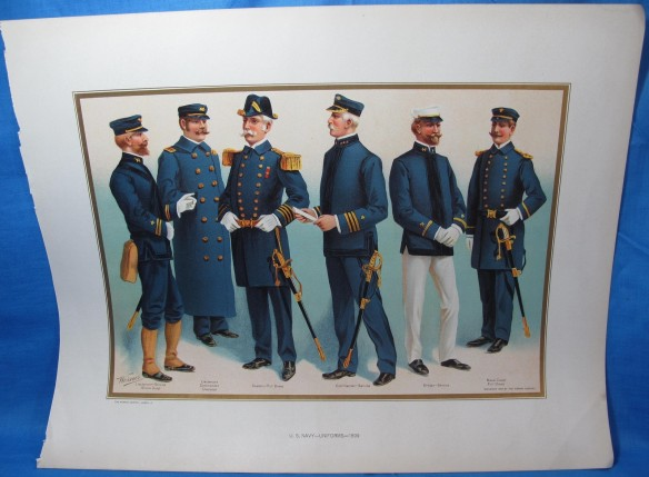 Wo Officers And Cpo Uniform Regulations Naval Living History