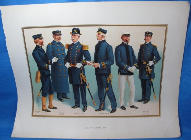 1899_Officer's Uniforms_A