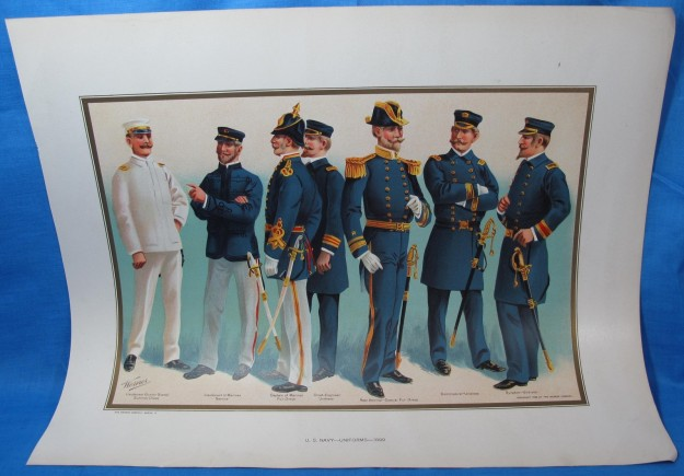 1899_Officer's Uniforms_B