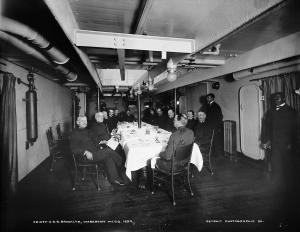 BROOKLYN-Wardroom Dining Room