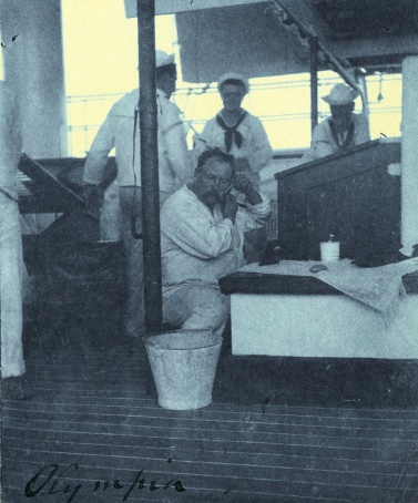OLYMPIA- Washing and shaving 1898_Crop