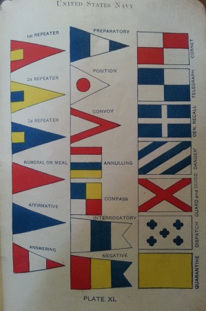 Plate XI Special Flags & Pennants
