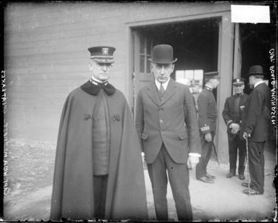 RADM Moffett & Amundson at GLAKES-1918