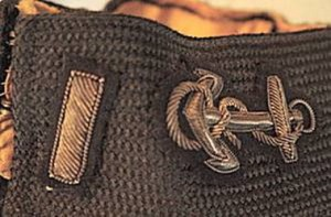 SDB Coat- LTJG Line aviator-left collar detail