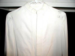 Service Dress White coat.